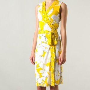 DVF Silk Wrap Dress 10